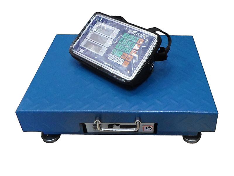 Весы электронные торговые WiFi BITEK 500кг 45х60см TCS-R3-500kg