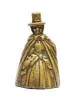 "Колокольчик ""Дама валлийском костюме"", бронза, Англия, фото 1"