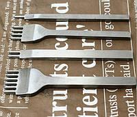 Набор шаговый пробойников для кожи 6мм (1-2-4-6)