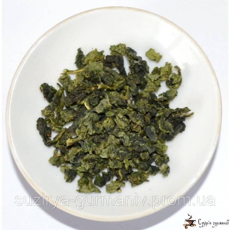 Зеленый чай Guang Fu Цин Сян Улун Qing Xiang Oolong, фото 1