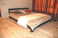 Кровать  Адакс. Изюминкой Адакс являются массивные квадратные ножки, которые не выходят за габарит кровати., фото 1