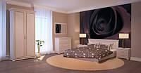 Ліжко Еліт Плюс білий патина