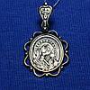 Серебряная подвеска-иконка Богородица 3114-ч