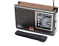 Радио Golon RX-9933UAR, радиоприемник переносной MP3/WMA/WAV, радиоприемник с флешкой, радио для дома и дачи