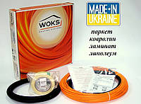 Кабель нагревательный для теплого пола под плитку, ламин Woks 10-450 48,0 м