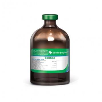 ЕвитСел ( а-токоферола ацетат(витамин Е) – 100 мг; селен-30 мг) 50 мл ветеринарный витаминный препарат