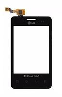 Оригинальный тачскрин / сенсор (сенсорное стекло) для LG Optimus L3 Dual SIM E405 (черный цвет)