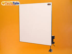 Керамічна панель DIMOL Standart 03 з терморегулятором (білий) 370 Вт, (керамічна панель)