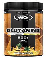 Глютамін Real Pharm Glutamine (500 г) (103796) Фірмовий товар!