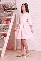 Элегантное платье пастельного цвета