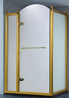 Душевая кабина Volle Grand Tenerife Combi 10-22-164 G/S левосторонняя, золото/серебро, стекло матовое