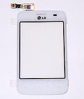 Оригинальный тачскрин / сенсор (сенсорное стекло) для LG Optimus L3 II Dual E435 (белый цвет)
