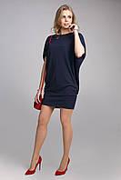 Стильное платье туника свободного фасона легко скрывающее недостатки