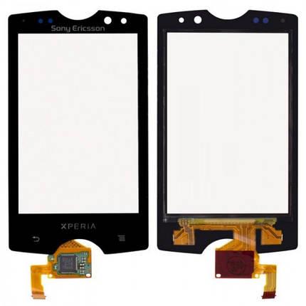 Тачскрин для Sony Ericsson SK17i Xperia Mini Pro. черный, фото 2