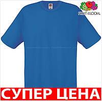 Мужская футболка легкая 100% хлопок Цвет Ярко-Синий Размер XL 61-082-51 Xl