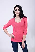 Элегантный свитерок розового цвета, фото 1