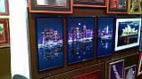 Схемы для вышивки бисером АР2-001 Ночной Нью-Йорк (триптих), фото 2