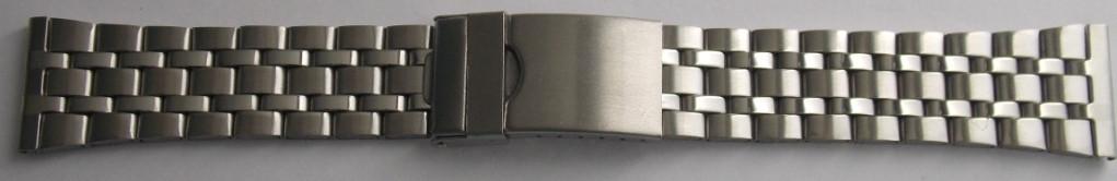 Браслет для часов метал 22 Silver