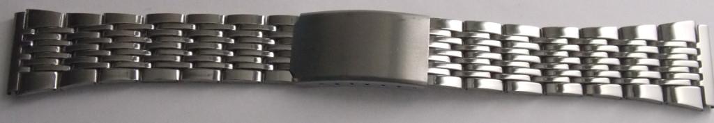 Браслет для часов метал 22 Silver 2