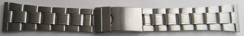 Браслет для годинника метал 22 Silver