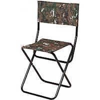 Складной стул со спинкой, стул для отдыха, пикника, рыбалки, кемпинга, нагрузка до 100 кг, раскладной стул