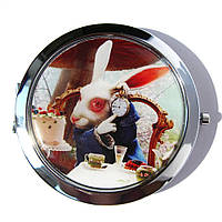 Женское карманное зеркало «Заяц», фото 1