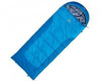 Спальный мешок правый PINGUIN BLIZZARD Junior 150 R light blue
