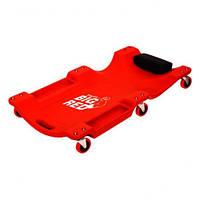 Лежак автослесаря подкатной TORIN TRH6802-2 (пластиковый)