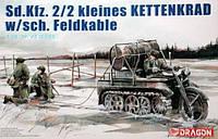 Sd.Kfz. 2\2 kleines KETTENKRAD w\sch. Feldkable        1\35      DRAGON 6128