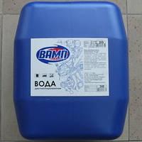 Дистильована вода ВАМП 20л