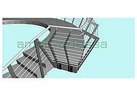 Проектирование ограждающих конструкций и перил