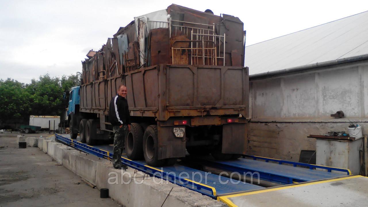 Весы автомобильные 80 тонн 18 метров электронные