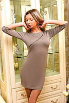 Д286 Платье с молнией в расцветках, фото 2