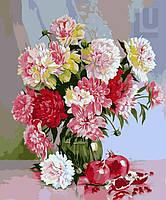 Картина по номерам Натюрморт с пионами (VP117)