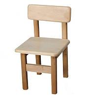 Стульчик детский деревянный. F36