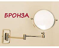 Бронзовое увеличительное зеркало Pacini & Saccardi Oggetti Appoggio 30125