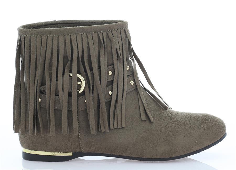 Женские ботинки DEX Khaki