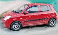 Ветровики KIA Picanto I 5d 2004-2011 (на скотчі) ShS 04-11, фото 1