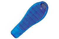 Спальный мешок правый PINGUIN COMFORT Junior 150 синий R