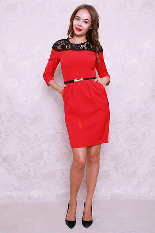 7874099eba79 Топ продаж Элегантное молодежное платье со складками на талии и карманами