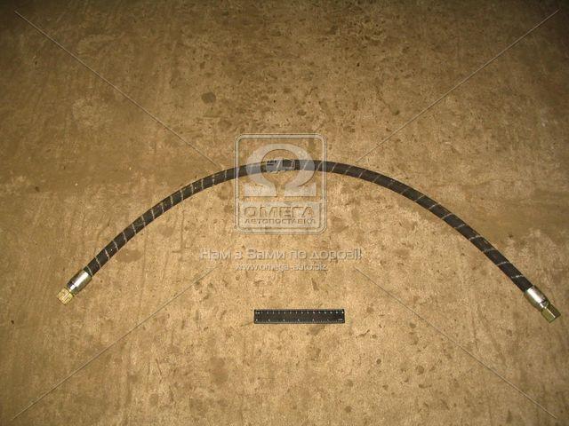 Шланг ГУР КРАЗ L=1120мм насоса масляного нагнетательный (г-г) (АвтоКрАЗ). 255Б-3408060-03