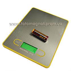 Ваги кухонні електронні 163, 5кг (електронні ваги)