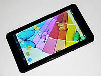 7'' Планшет-Телефон Samsung Черный 2Sim+2Ядра+3G+Android4