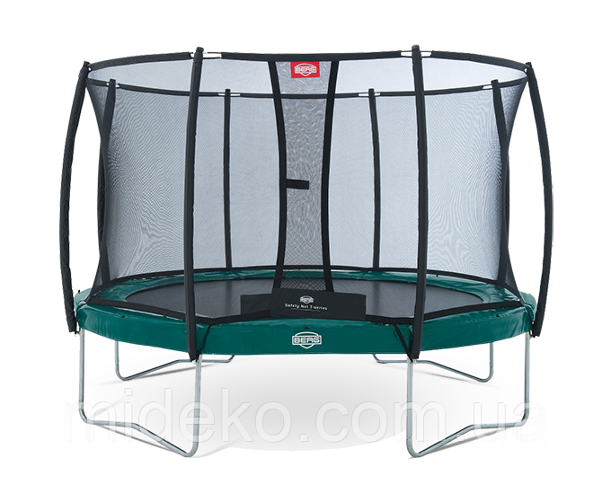 Батут Berg Elite Green 330 + Safety Net T-series 330