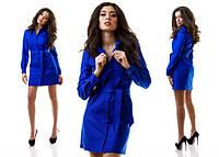 Платье - туника из джинса 4 цвета