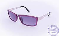 Оптом женские солнцезащитные очки - Фиолетовые - 004, фото 1