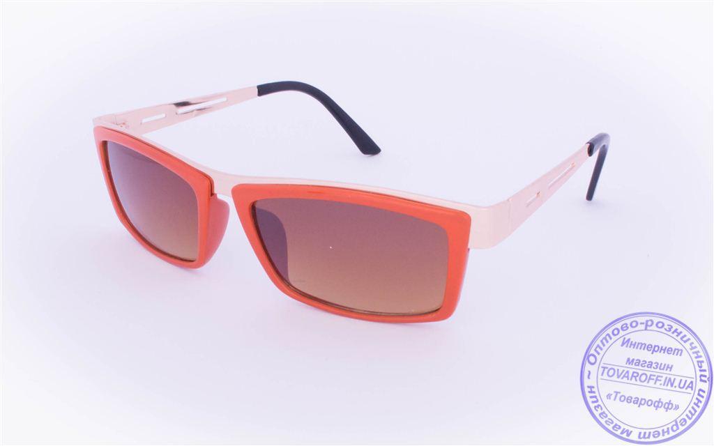 Оптом женские солнцезащитные очки - Оранжевые - 004