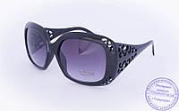 Оптом женские солнцезащитные очки - Черные - 922, фото 1
