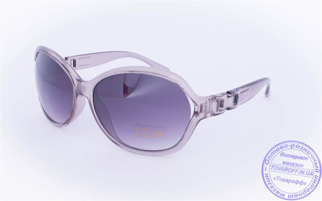 Оптом женские солнцезащитные очки - Серые - 927