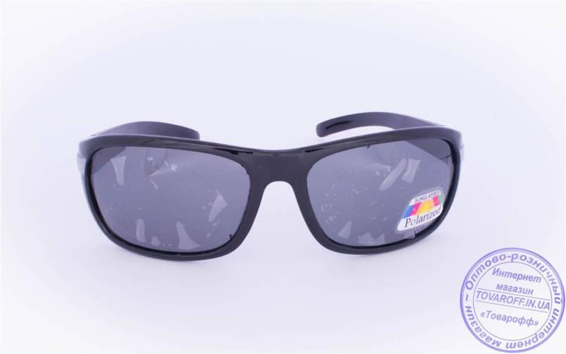 Оптом мужские поляризационные солнцезащитные очки - Черные - 952, фото 2